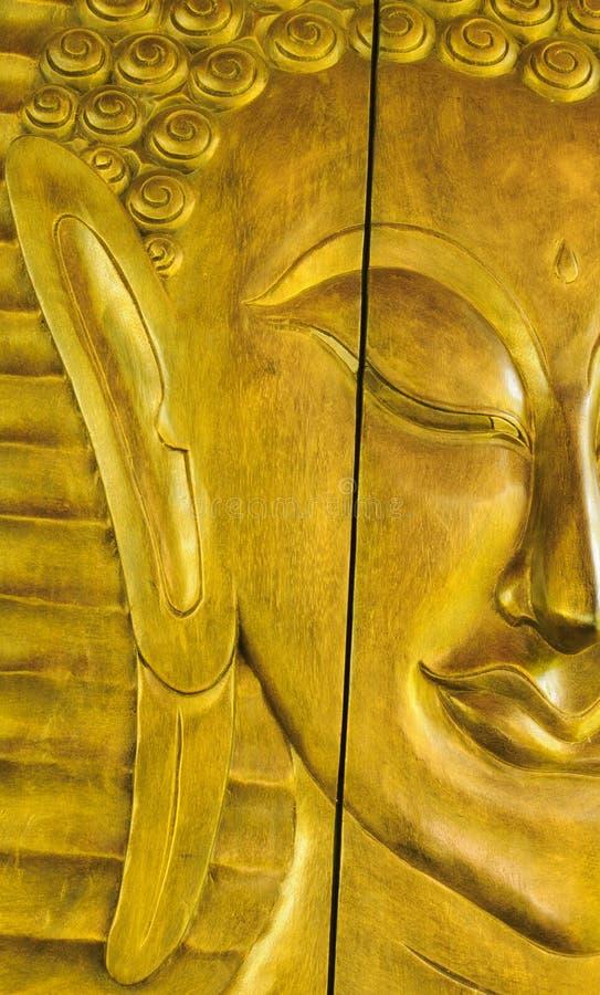 Face do senhor Buddha imagem de stock