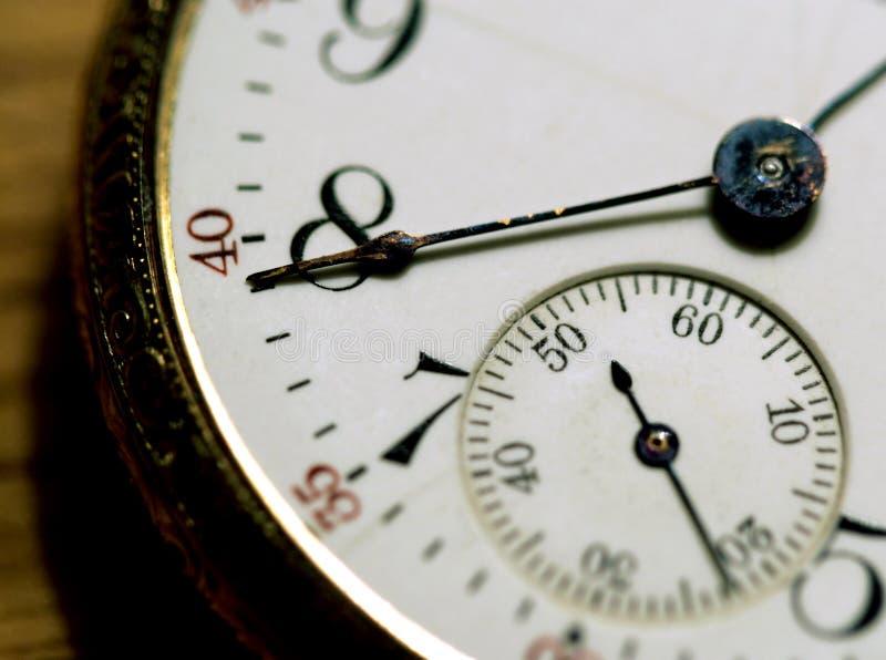 Face do tempo fotografia de stock