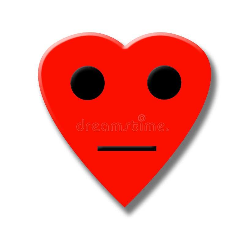 Face do Valentim ilustração royalty free