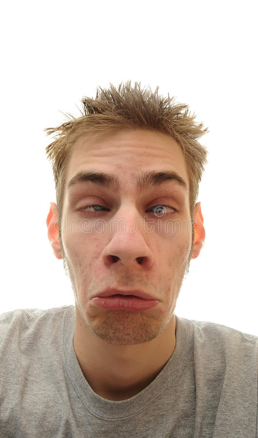 Face Droopy foto de stock