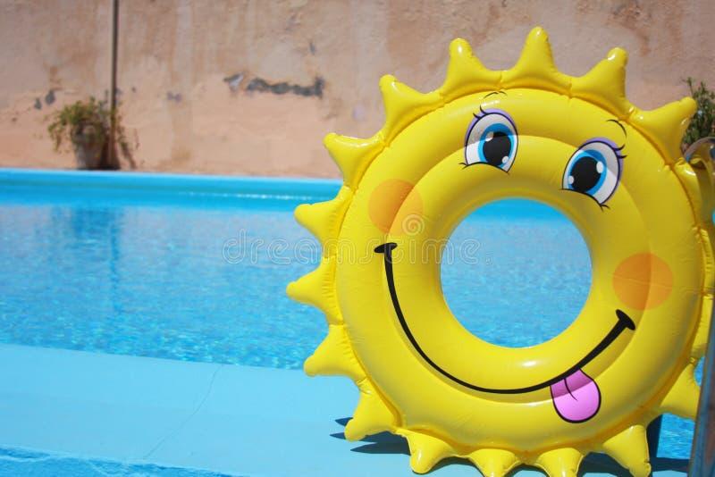Face feliz do verão fotografia de stock royalty free