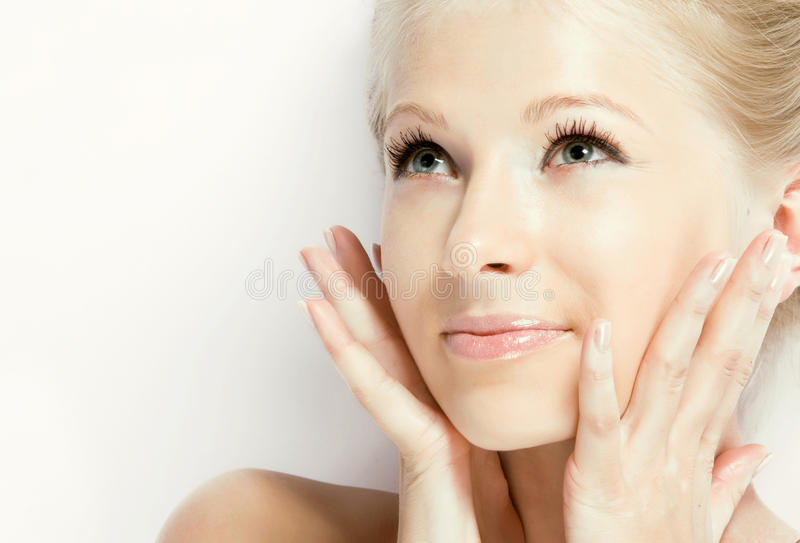 Face fresca do Close-up fotografia de stock royalty free