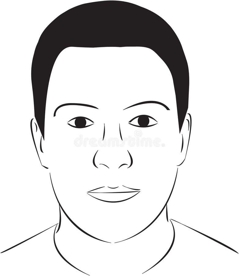 Free Face Illustration Stock Image - 28575751