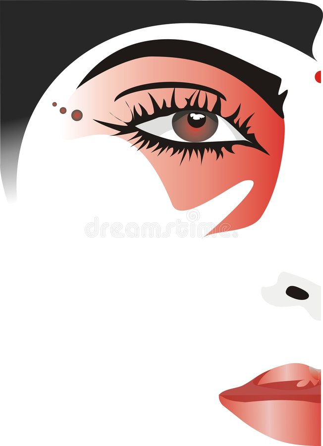 Face_jabe vektor abbildung