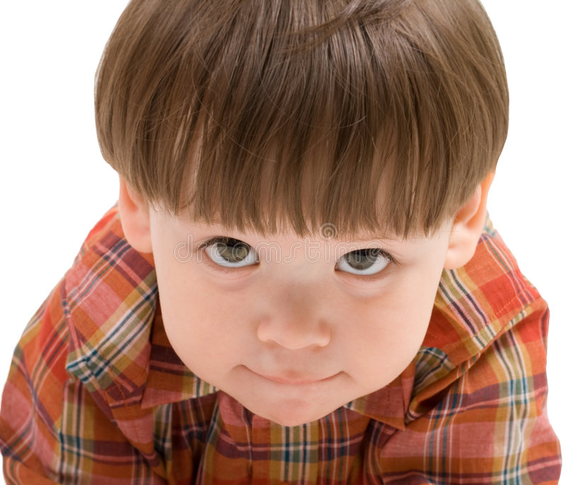 Download Face Of A Kid Looking At You Stock Photo - Image: 8816930