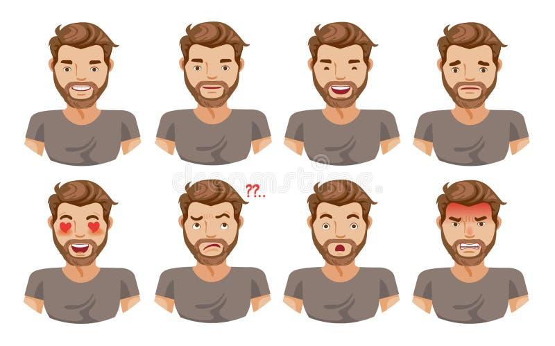 Face royalty free illustration