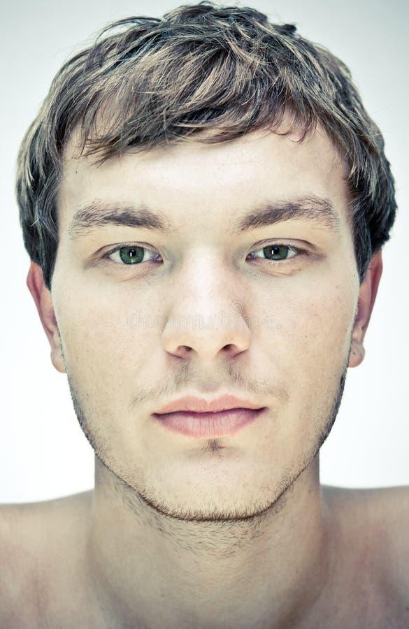 Face masculina foto de stock royalty free