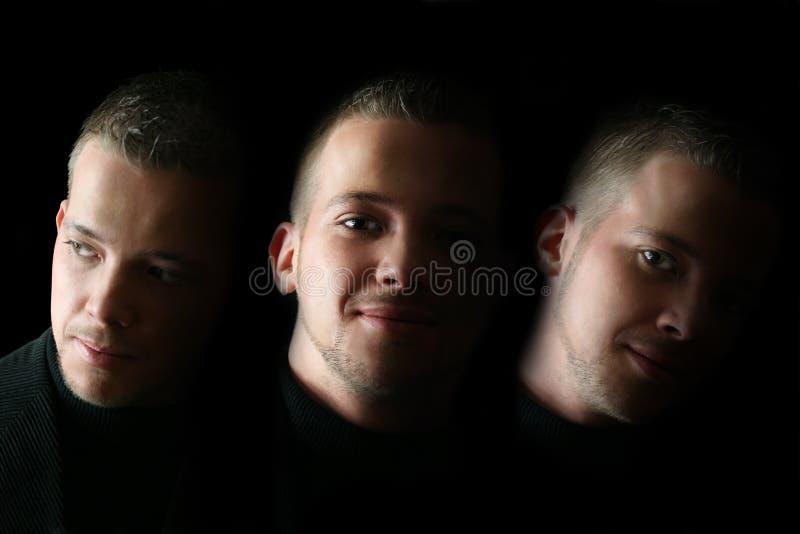 Face masculina imagens de stock royalty free