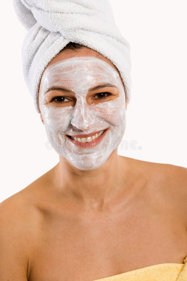 Download Face mask stock image. Image of bath, care, cremed, creamed - 3881043