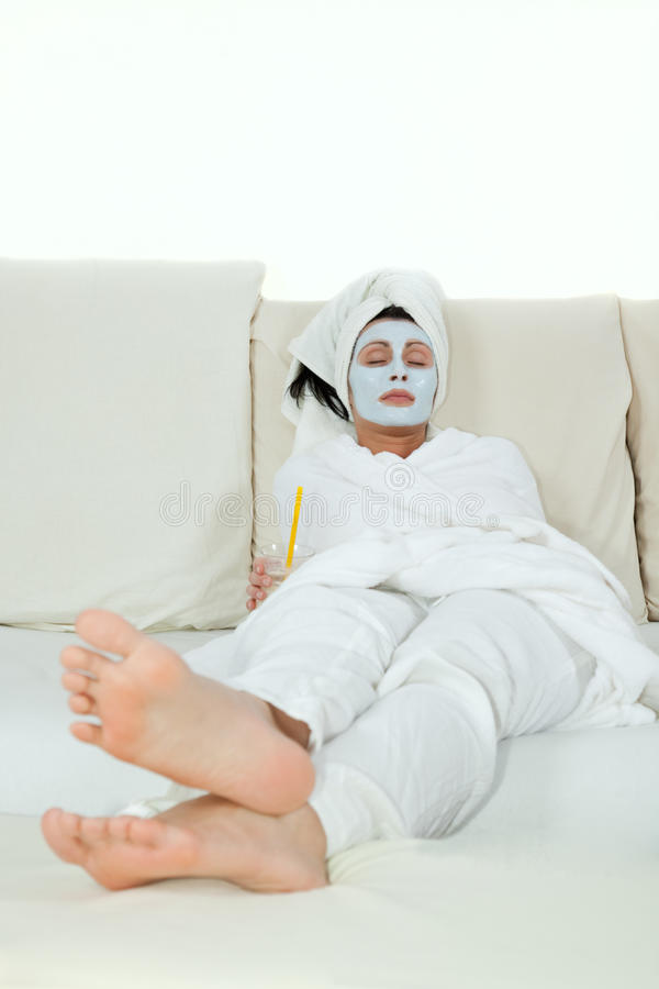 Face mask royalty free stock images
