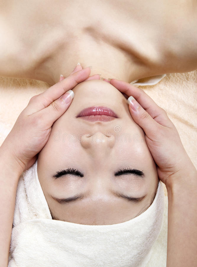 Download Face massage stock image. Image of calm, clean, clear - 16042285