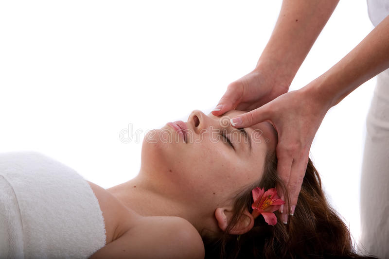 Download Face Massage Stock Photography - Image: 9762552