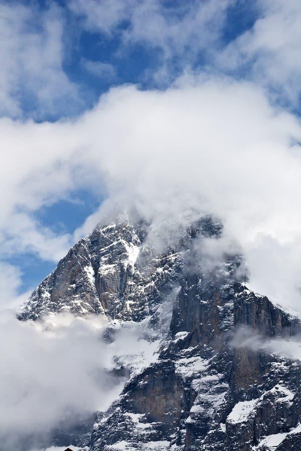 Face norte de Eiger imagens de stock royalty free