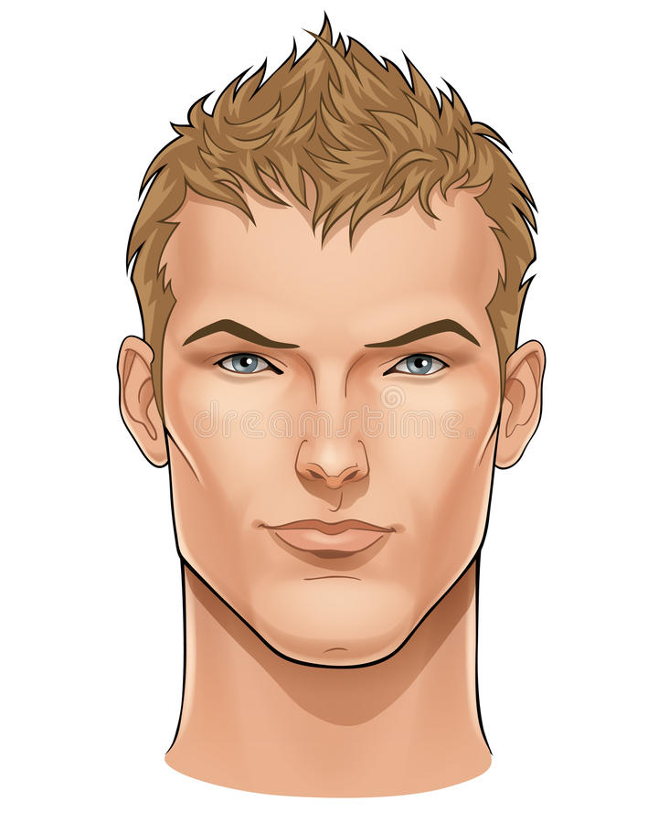 Free Face Of Young Man Royalty Free Stock Photos - 15962648
