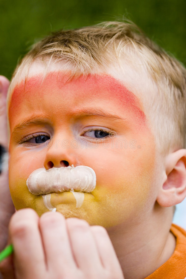 Download Face Painting Stock Image - Image: 6150071