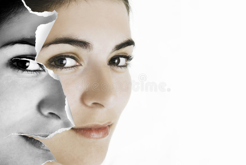 Face paper stock images