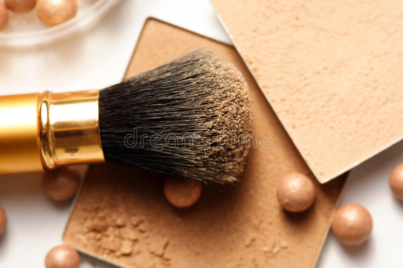 Face powder stock images