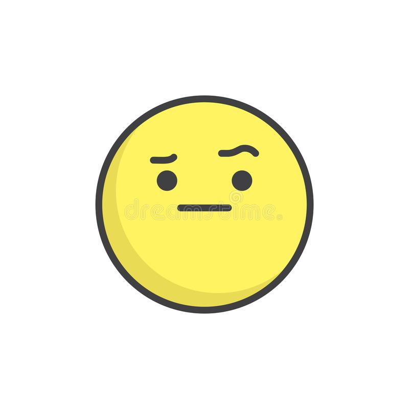 Emoji Eyebrow Stock Illustrations 772 Emoji Eyebrow Stock Illustrations Vectors Clipart Dreamstime Joypixels organizes face with raised eyebrow within the smileys & people category. emoji eyebrow stock illustrations 772