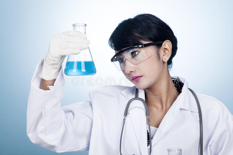 Face Of Science Royalty Free Stock Images