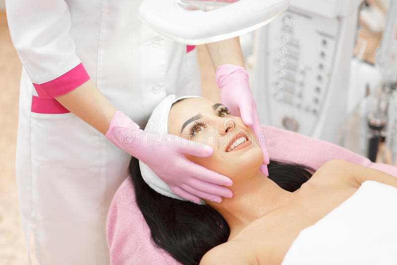 Face Skin Care royalty free stock images