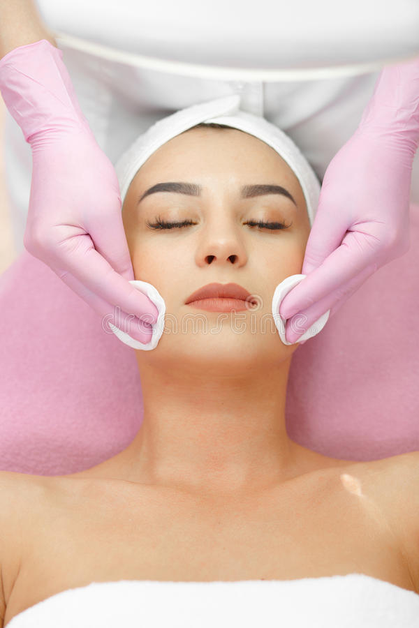 Face Skin Care. stock photography