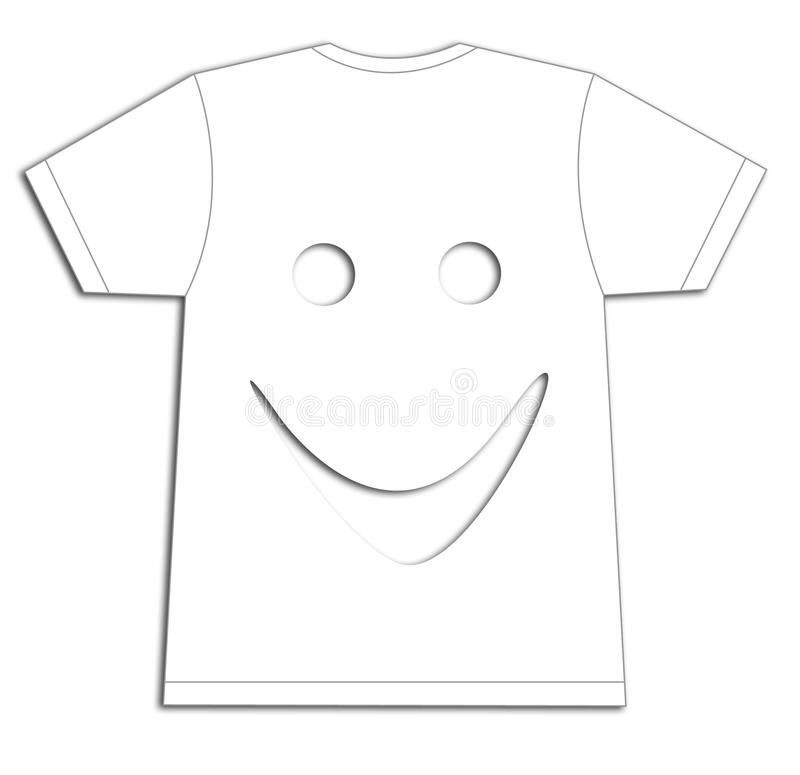 Face T-shirt Stock Photos