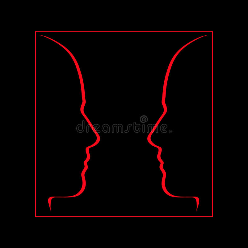 Face to face, communication, conversation vector illustration