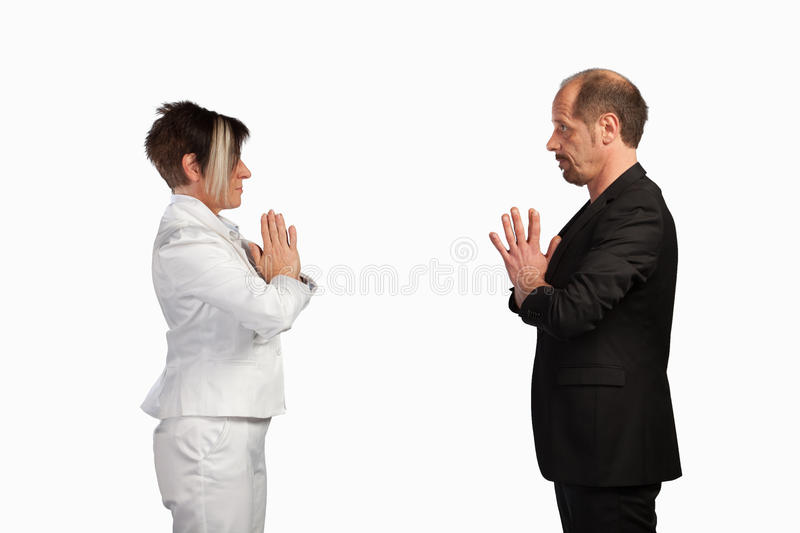 Download Face to face stock photo. Image of pact, businesspeople - 39509992