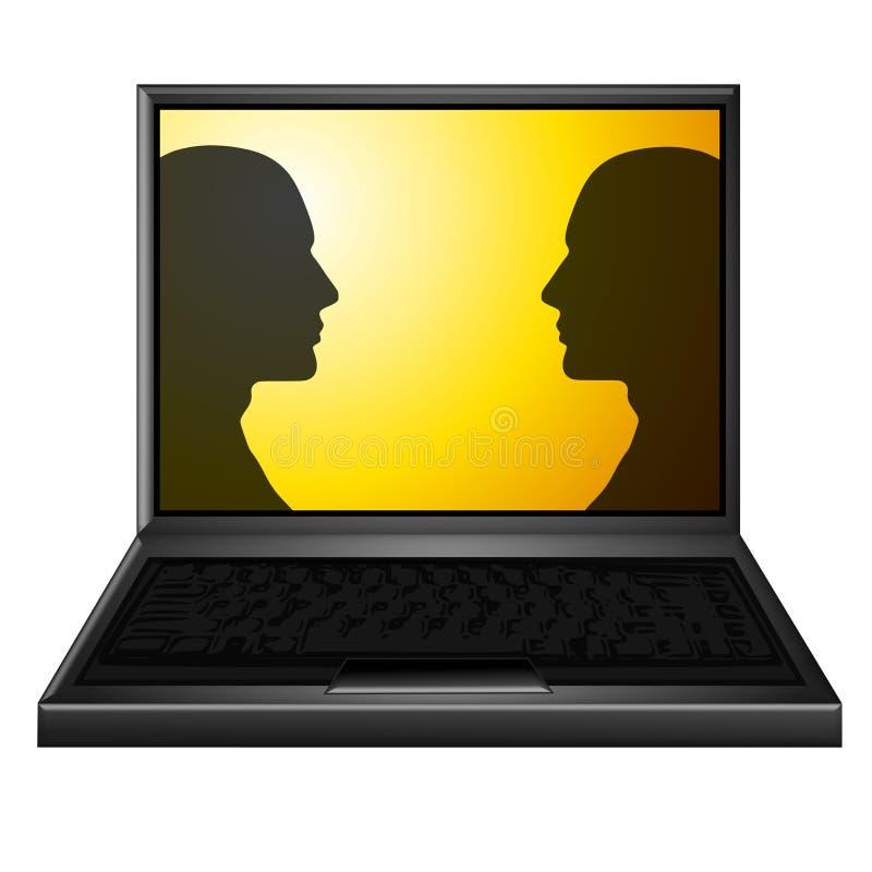 Face To Face Meeting Online Stock Photos