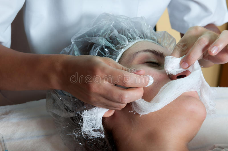 Download Face treatment stock photo. Image of face, health, masseuse - 17684128
