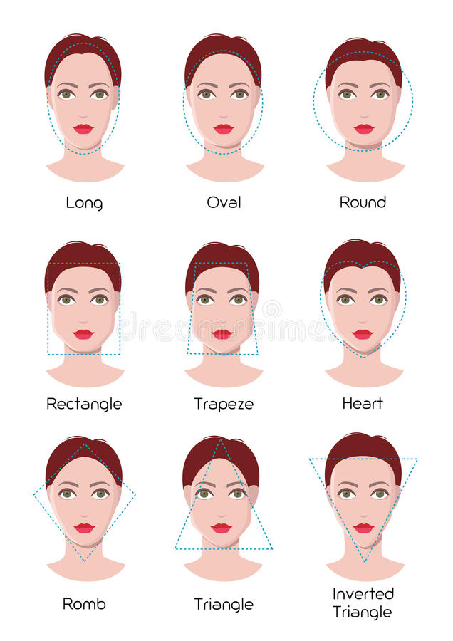 Nine Different Ways You Can Put Your Goals In Writing: Face Type Infographics Stock Vector. Illustration Of
