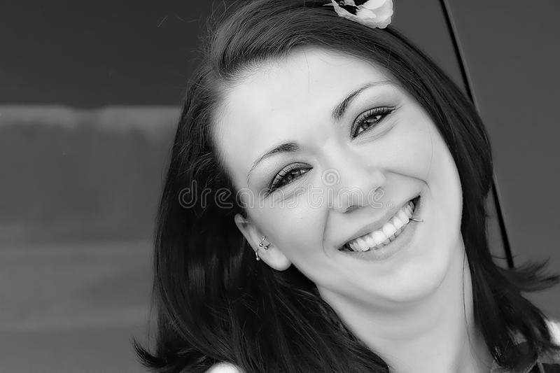 Face, White, Black, Beauty stock image