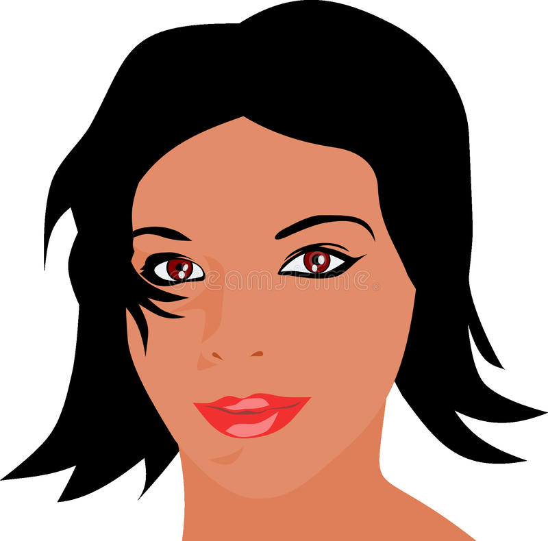Face, Woman, Nose, Cheek royalty free stock image