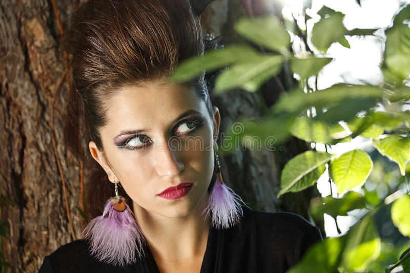 Download Face of the young woman stock photo. Image of sensuality - 25777618