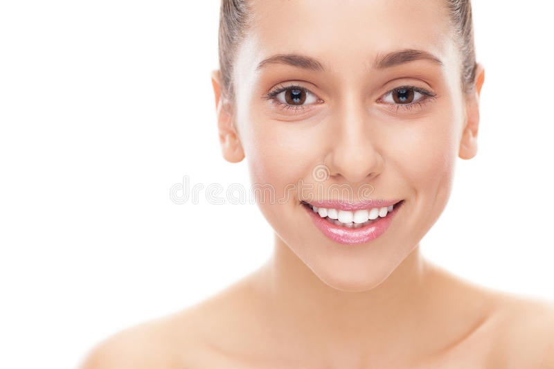 Face Of Young Woman Royalty Free Stock Photography