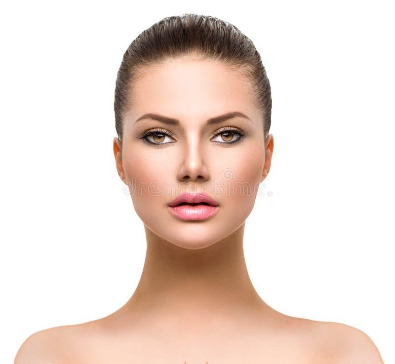 Face of Young Woman stock photos