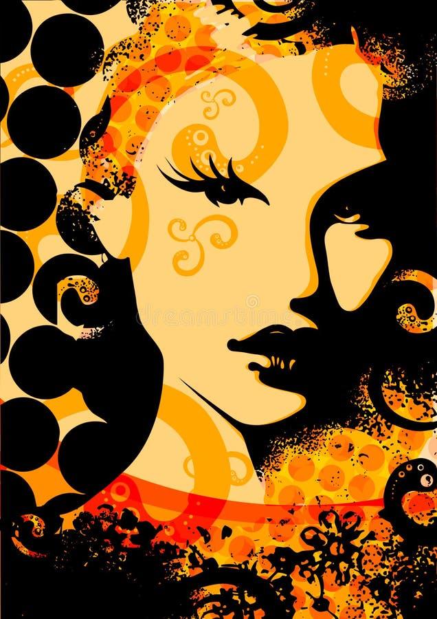 face2 ретро бесплатная иллюстрация