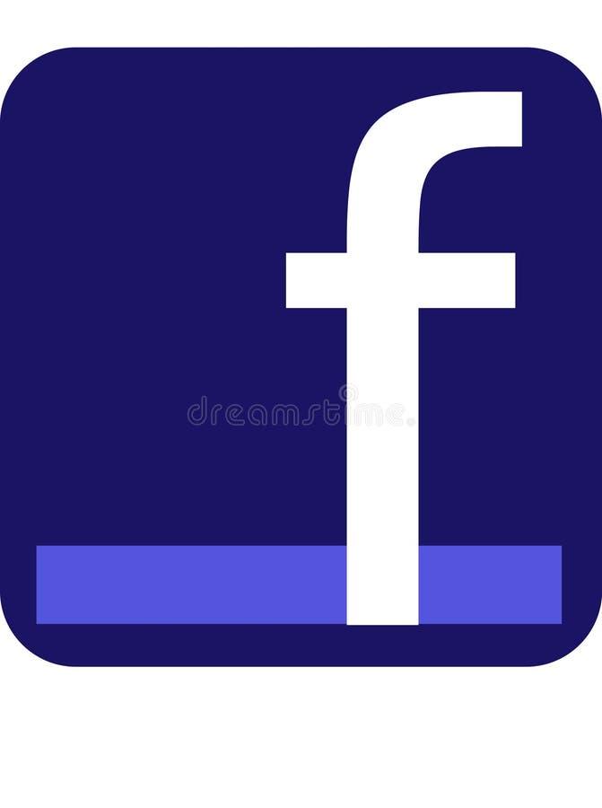 Facebook illustrazione di stock