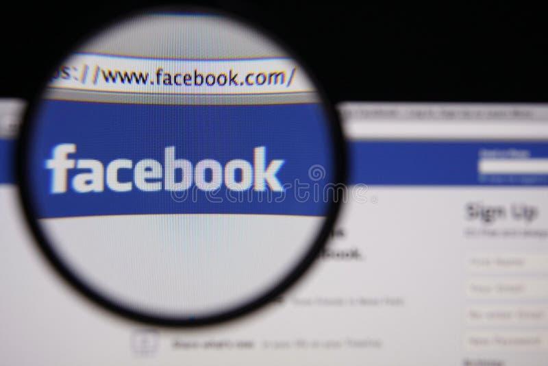Facebook arkivbild