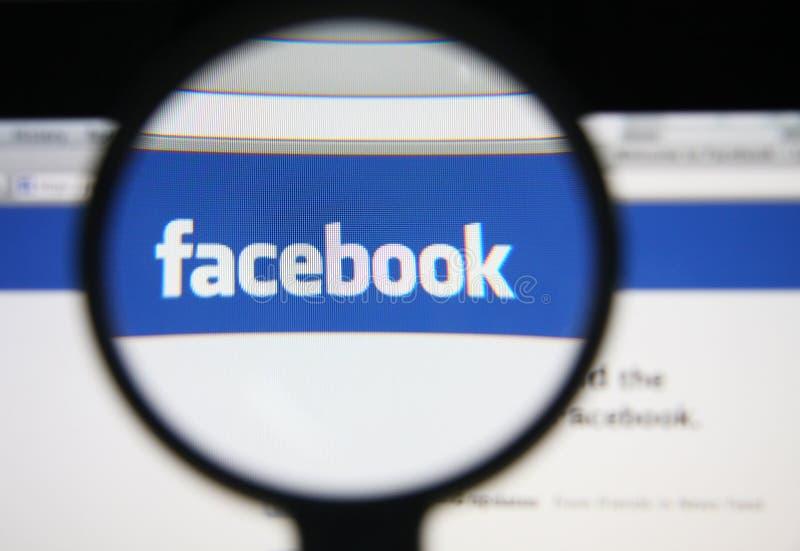 Facebook image stock
