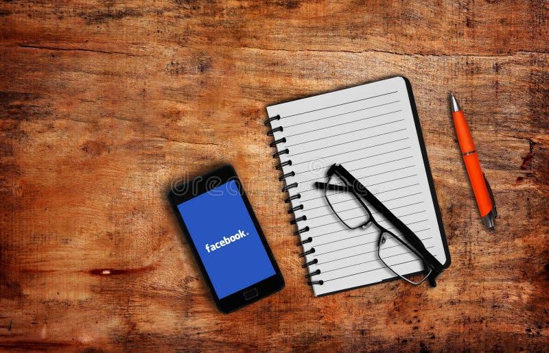 Facebook photos stock