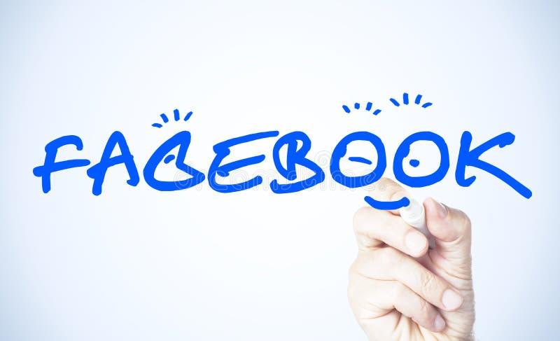 Facebook illustration libre de droits