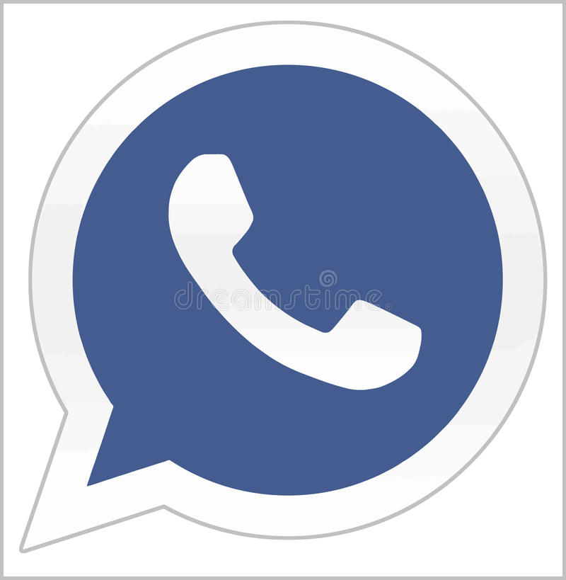 Facebook buys Whatsapp editorial stock photo. Image of ...