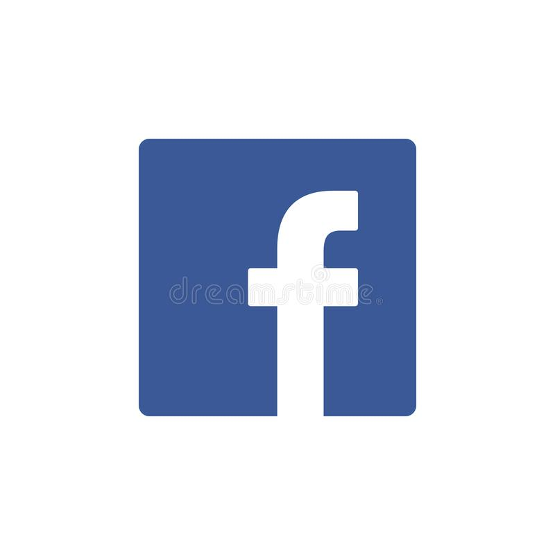 Facebook colored icon. Element of Social Media Logos illustration icon. Signs and symbols can be used for web, logo, mobile app,. UI, UX on white background