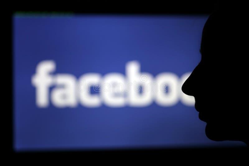 Facebook face stock photos
