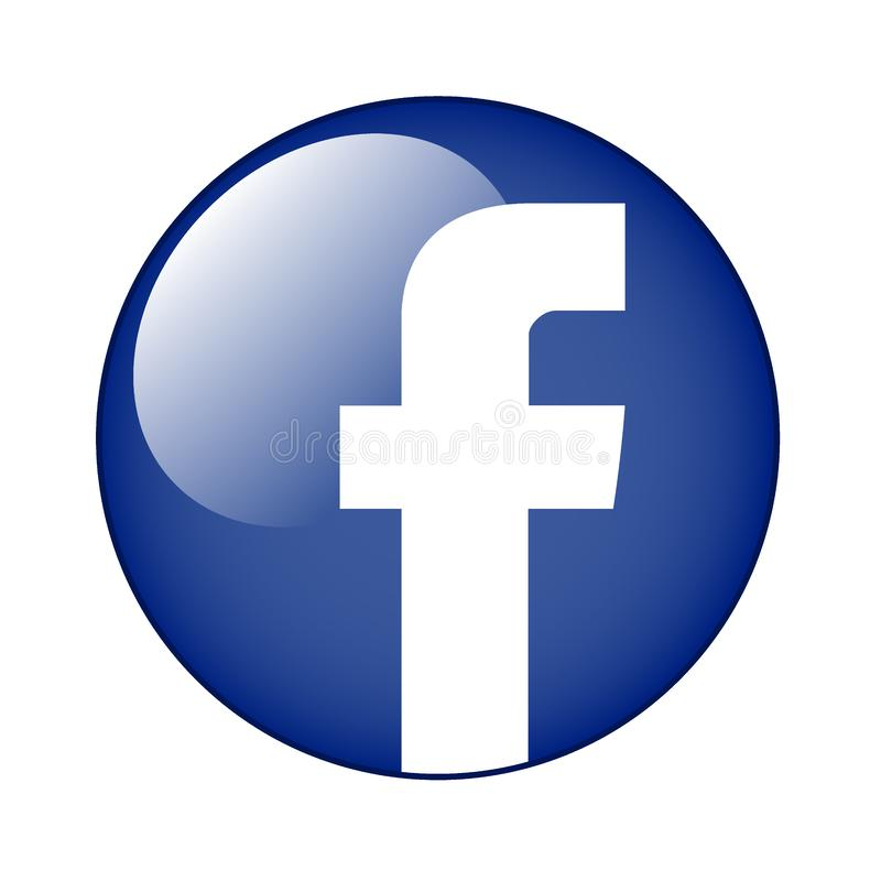 Facebook editorial stock photo. Illustration of icons - 152396308