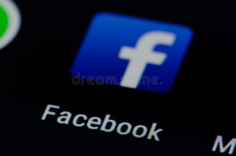 Facebook royalty free stock images