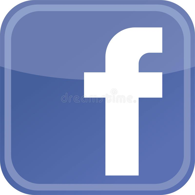 Facebook icon new logo. Facebook, Inc. is an American online social media and social networking service company. It is based in Menlo Park, California. Its was