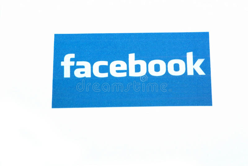 Facebook On Internet Editorial Stock Photo