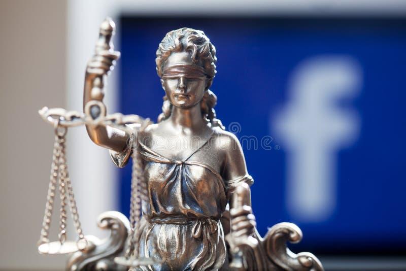 Facebook Libra waluty crypto pojęcie zdjęcie stock